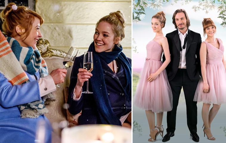 """Bei """"Sturm der Liebe"""" muss sich William zwischen Rebecca (links) und Ella entscheiden. Foto: ARD/Christof Arnold"""
