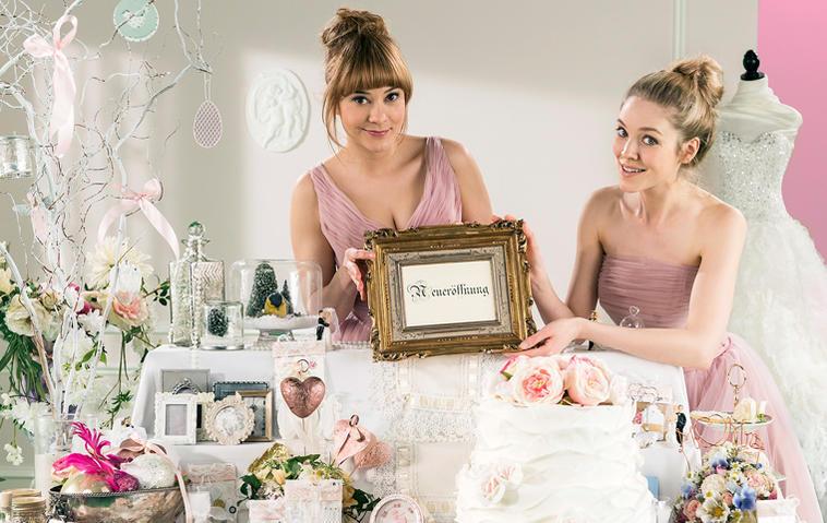 Sturm der Liebe: Rebecca und Ella (rechts) sind die beiden Ladys der 13. Staffel. Foto: ARD/Ralf Wilschewski