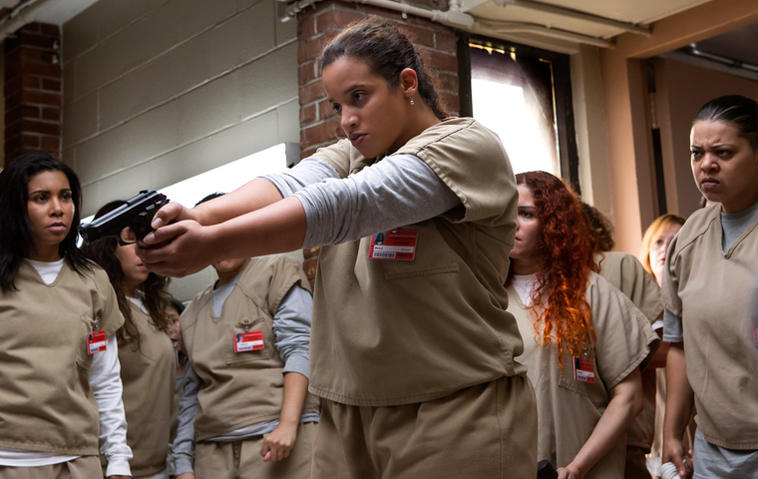 "Die 5. Staffel ""Orange Is the New Black"" startet ungewohnt brutal. Foto: Cara Howe/Netflix"