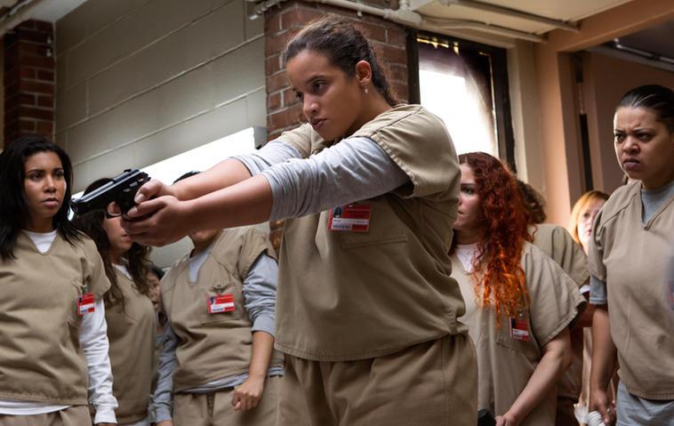 """Die 5. Staffel """"Orange Is the New Black"""" startet ungewohnt brutal. Foto: Cara Howe/Netflix"""