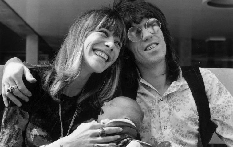 Keith Richards trauert um Anita Pallenberg