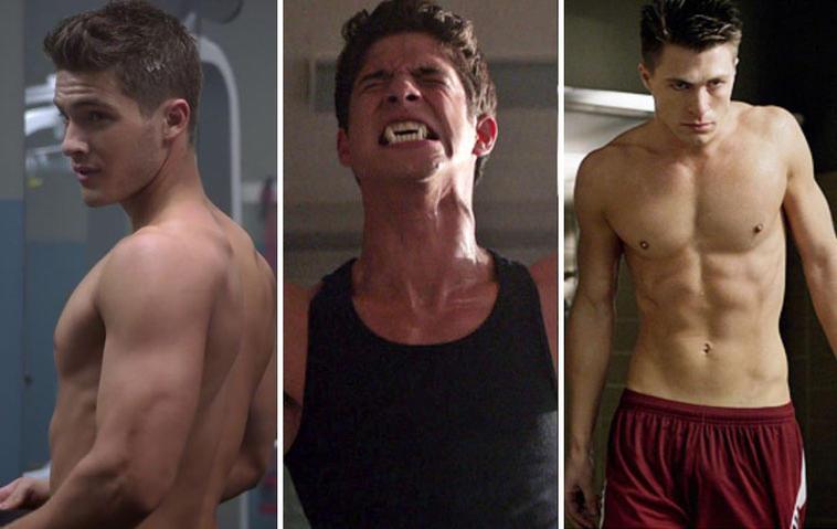 """Die """"Teen Wolf""""-Darsteller beeindrucken mit sexy Bodys. Fotos: MTV"""