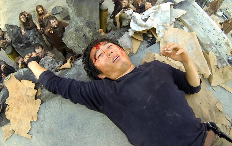"""Glenn ist bei """"The Walking Dead"""" nicht vergessen. Foto: AMC"""