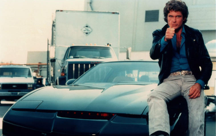 "David Hasselhoff arbeitet an neuen ""Knight Rider""-Folgen. Foto: Media Press"