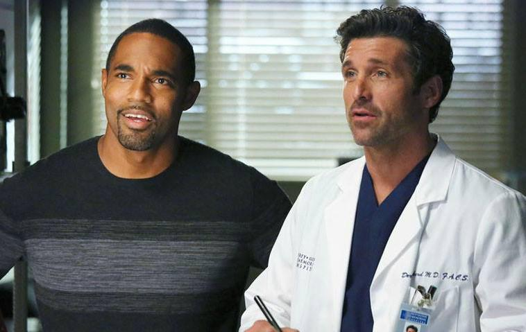 Dr. Ben Warren (Jason George) Derek Shepherd Grey's Anatomy