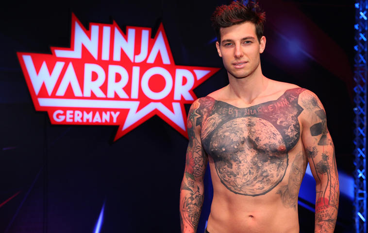 Love Island Jan bei Ninja Warriors