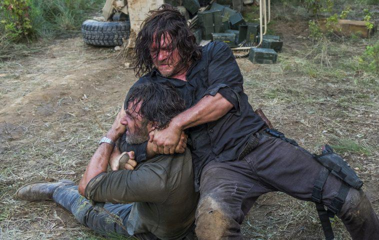 """The Walking Dead"" Daryl und Rick"
