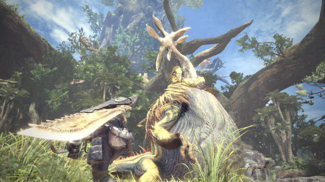 Monster Hunter: World PS4 Fighting