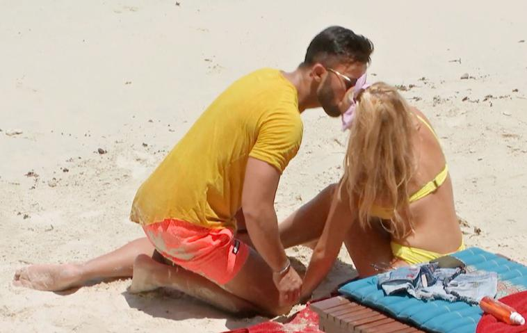 Bachelor in Paradise Domenico DeCicco und Evelyn Burdecki