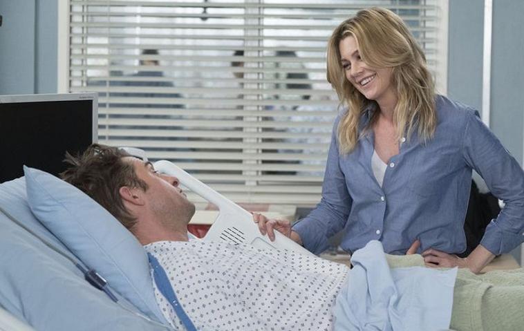 Meredith Grey (Ellen Pompeo) und Nick Marsh (Scott Speedman)