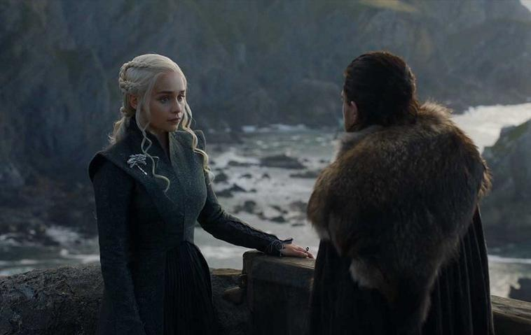 """Game of Thrones"": Daenerys (Emilia Clarke) und Jon Snow (Kit Harington)"