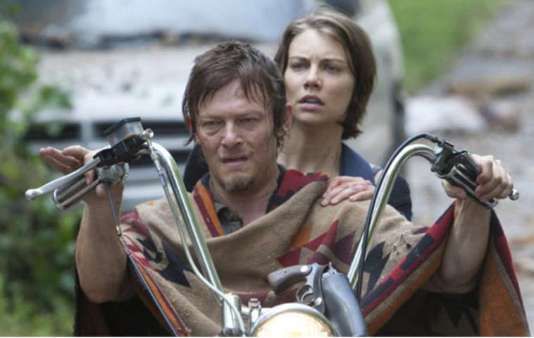 """""""The Walking Dead"""": Daryl Dixon (Norman Reedus) und Maggie"""