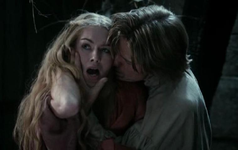 """Game of Thrones"" GOT Jaime lannister Cersei lannister Lena Headey Nikolaj Coster-Waldau"