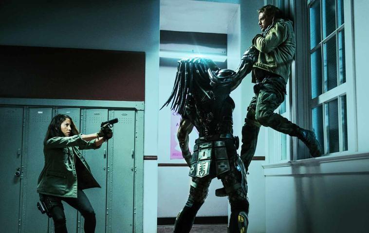 Predator Upgrade Olivia Munn und Boyd Holbrook