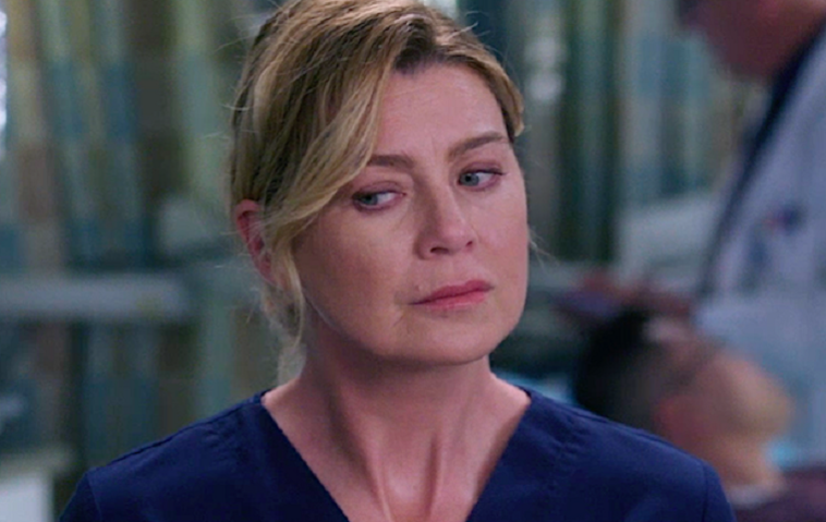 """Grey's Anatomy"" Ellen Pompeo Meredith Grey"