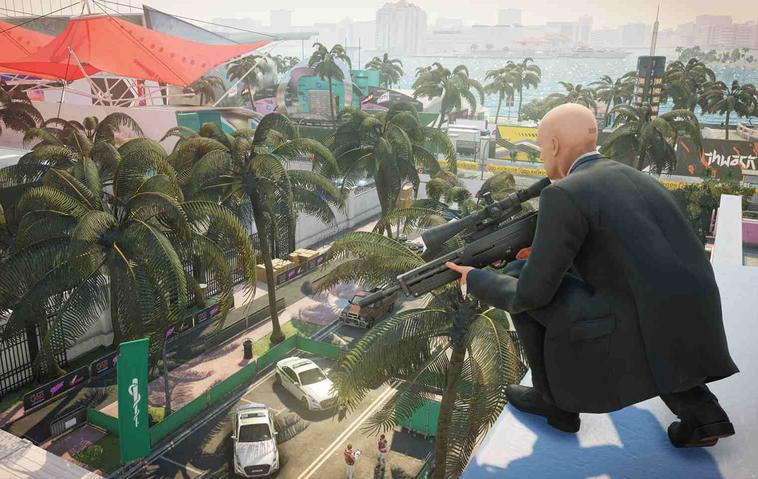 Hitman 2 Gameplay Miami