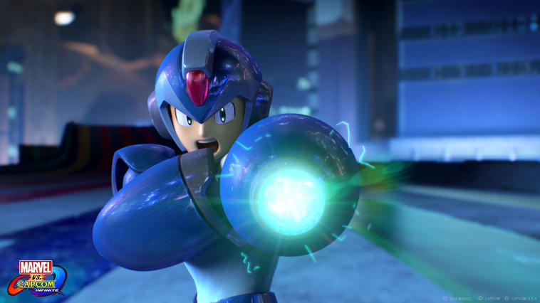 Mega Man Marvel Capcom Infinite