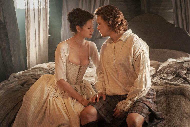 """Outlander"": Claire and Jamie -  Caitriona Balfe und Sam Heughan"