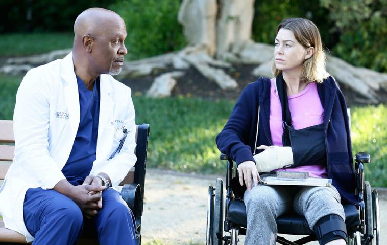 grey's anatomy: Meredith Grey (Ellen Pompeo) und richard webber
