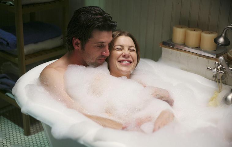 """""""Grey's Anatomy"""": Patrick Dempsey und Ellen Pompeo / Meredith Grey & Derek Shepherd"""