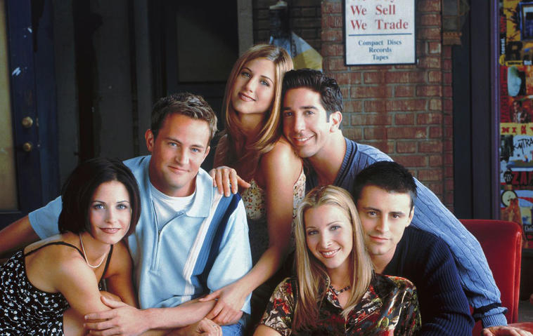 """""""Friends"""" auf Netflix"""