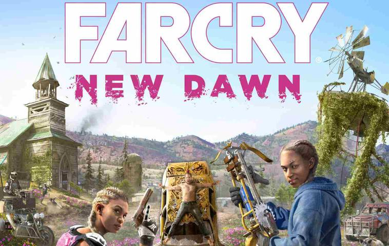 Far Cry New Dawn Artwork