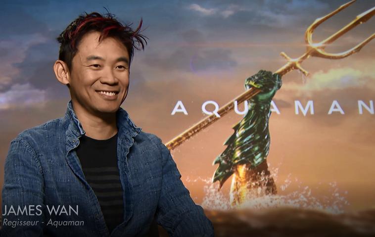 """James Wan im TV Movie Online-Interview zu """"Aquaman"""""""