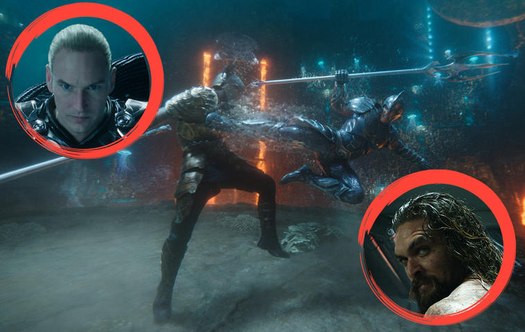 Aquaman und King Orm