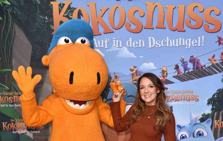 """""""Der kleine Drache Kokosnuss – Auf in den Dschungel!"""" mit Carolin Kebekus als Stachelschwein Matilda"""