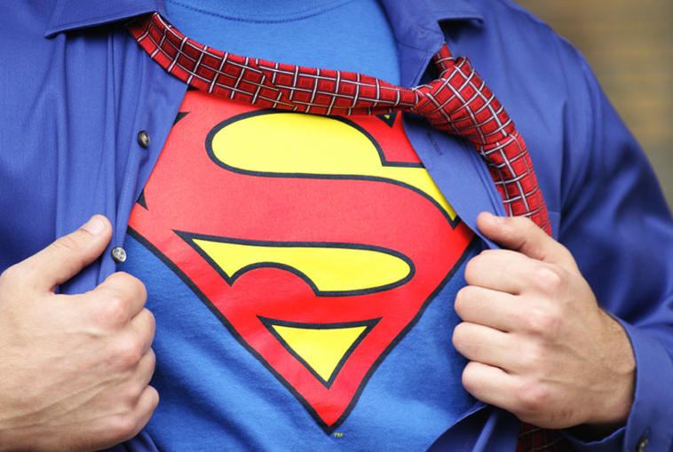 Superman Kostüm für Karneval