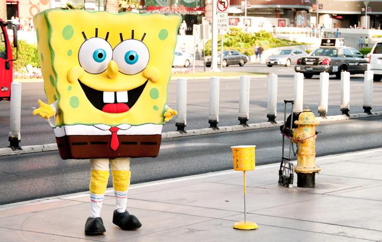 Das coolste Spongebob Kostüm