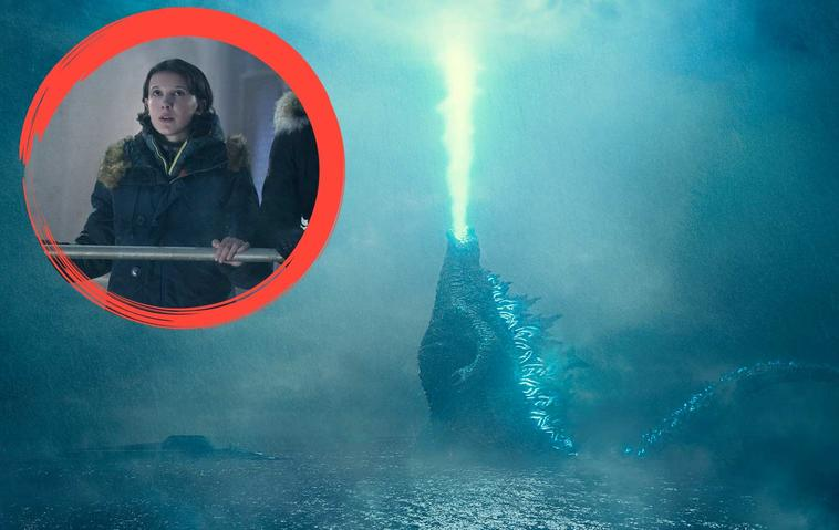 Godzilla mit Millie Bobby Brown