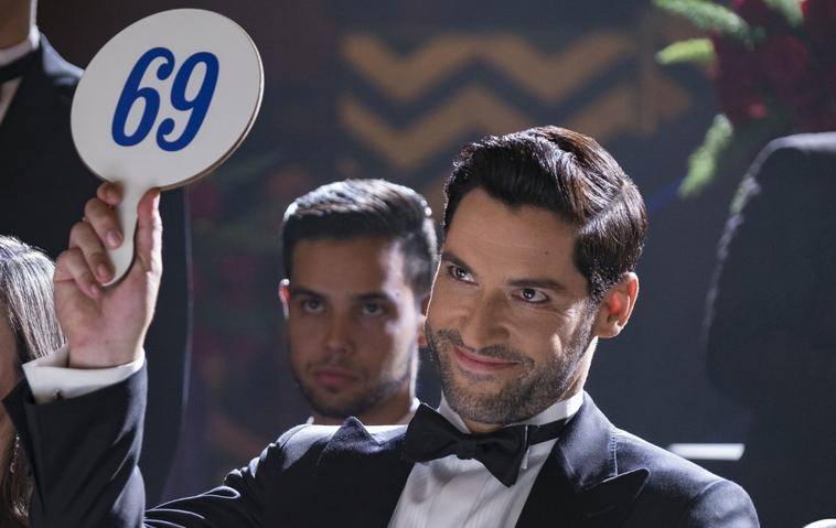"""Lucifer"", Staffel 4: Tom Ellis als Lucifer Morningstar"