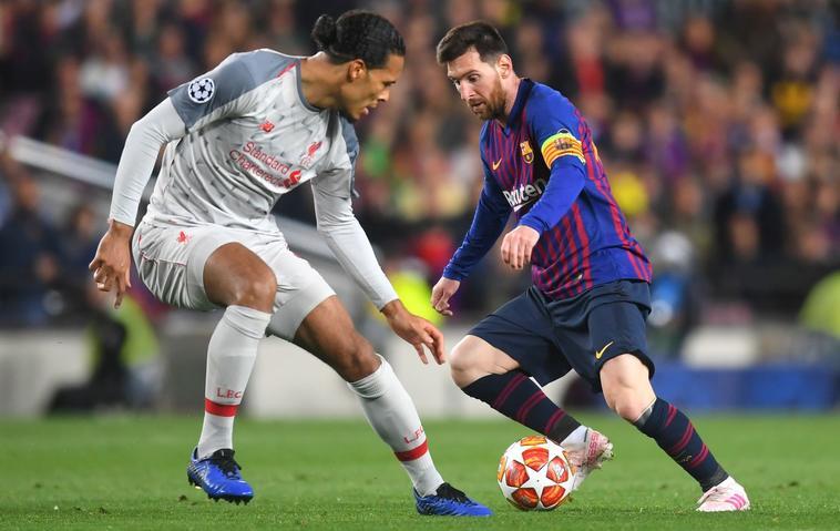 Barcelona Liverpool Messi