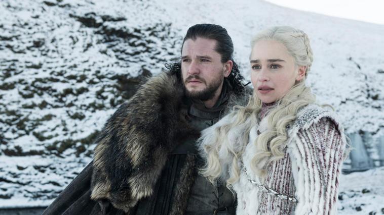 Daenerys Targaryen und Jon Snow