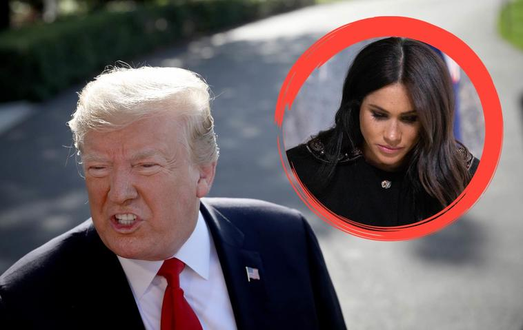 Doland Trump vs Meghan Markle