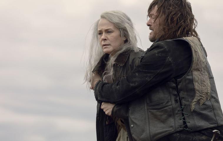 The Walking Dead AMC Carol Daryl