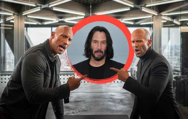 """Wird Keanu Reeves der Bösewicht in """"Hobbs & Shaw 2"""" - Jason Statham Dwayne Johnson"""