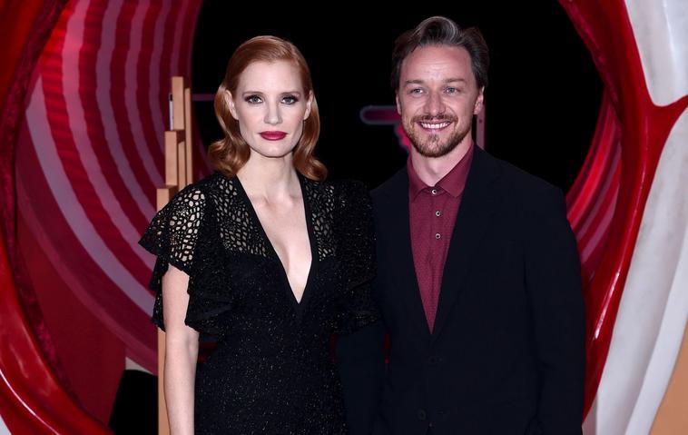 ES2 Jessica Chastain und James McAvoy