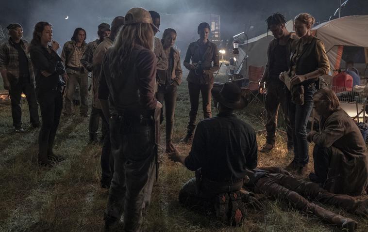 Fear the Walking Dead Staffel 5 Serientod