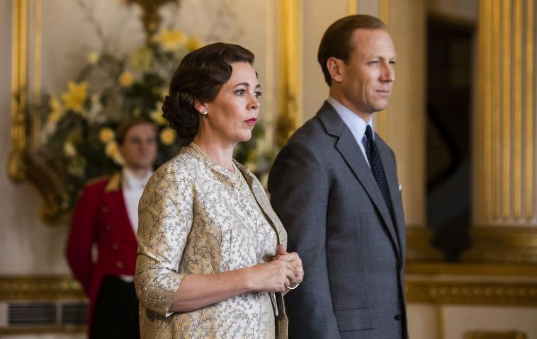 The Crown Tobias Menzies und Olivia Colman