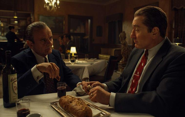 The Irishman Joe Pesci und Robert De Niro