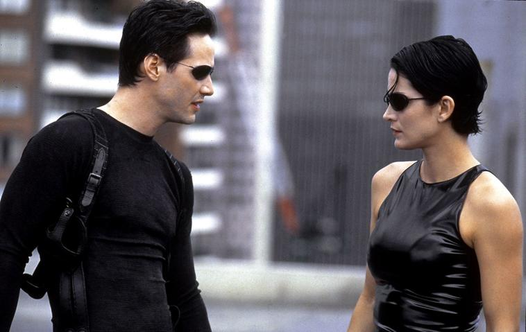 """Matrix 4"": Keanu Reeves und Carrie-Anne Moss"