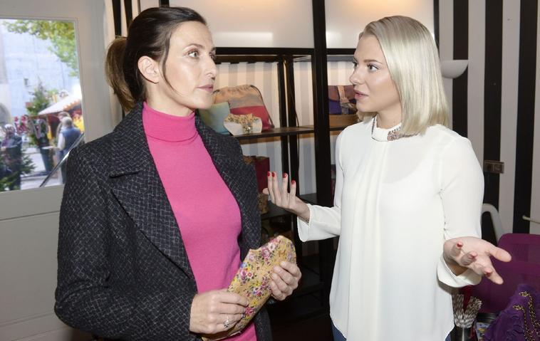 GZSZ-Vorschau für Donnerstag, den 19. Dezember - Katrin (Ulrike Frank, l.), Sunny (Valentina Pahde)