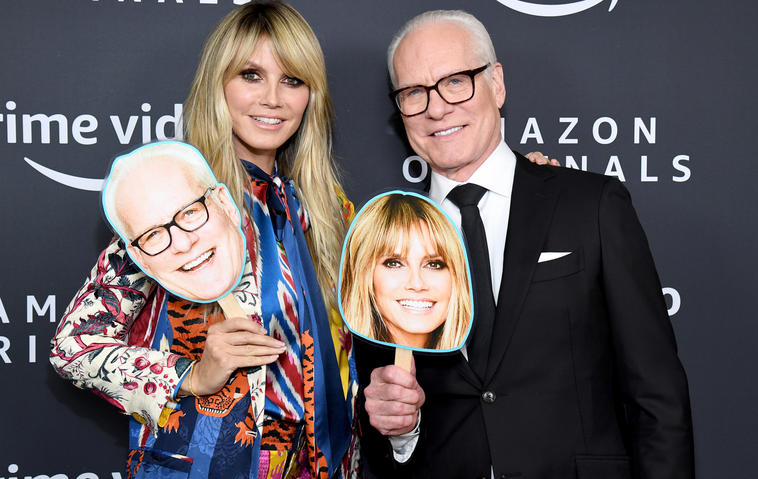 Heidi Klum und Tim Gunn machen Making the Cut für Amazon