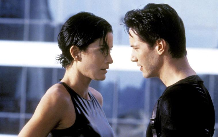Matrix: Carrie-Anne Moss und Keanu Reeves