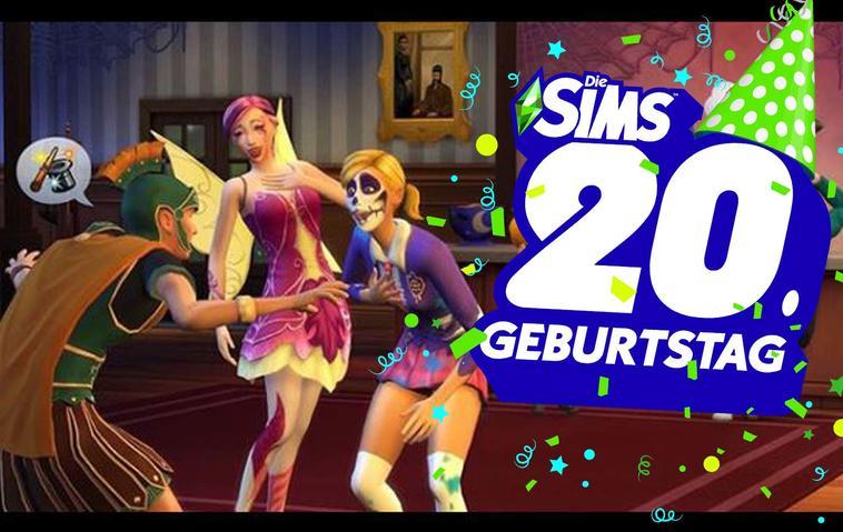 """""""Die Sims"""" werden 20 Jahre alt! Vom virtuellen Puppenhaus zum Erfolgsgame"""