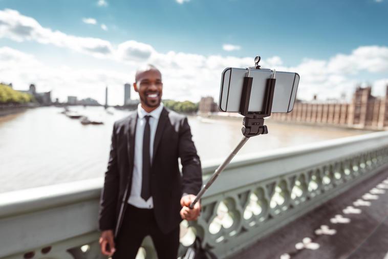 Ganzkörper Selfie