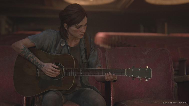 The Last of Us 2 Ellie mit Gitarre