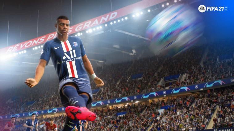 FIFA 21 mit Kylian Mbappé